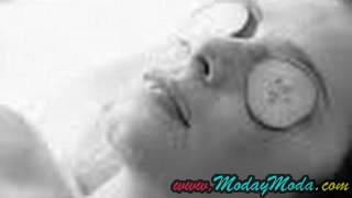 mascarrilla casera para ojos inflados y ojeras