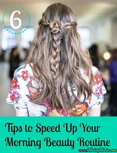 6 consejos para acelerar tu Belleza de la mañana Rutina