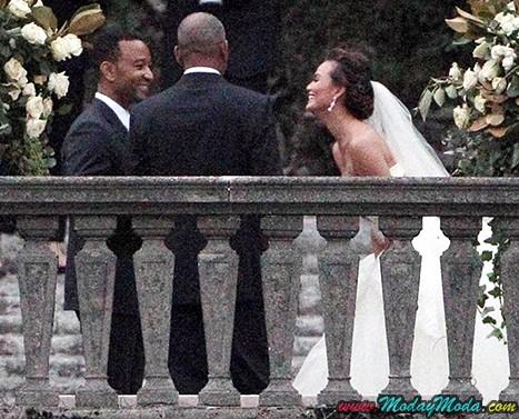 Chrissy Teigen y John Legend se casan!