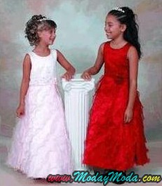 Red-Flower-Girl-Dress