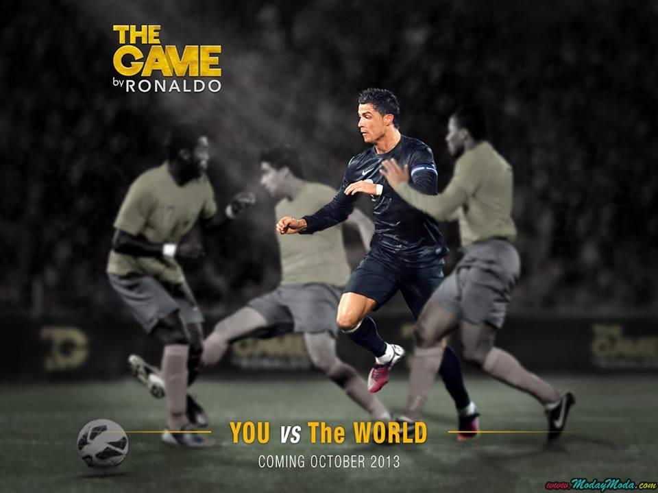 Ronaldo lanza video juego en octubre The Game by ronaldo