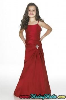 Spaghetti-Rhinestone-Taffeta-Corset-Red-Junior-Bridesmaid-Dress-Sale-233x350