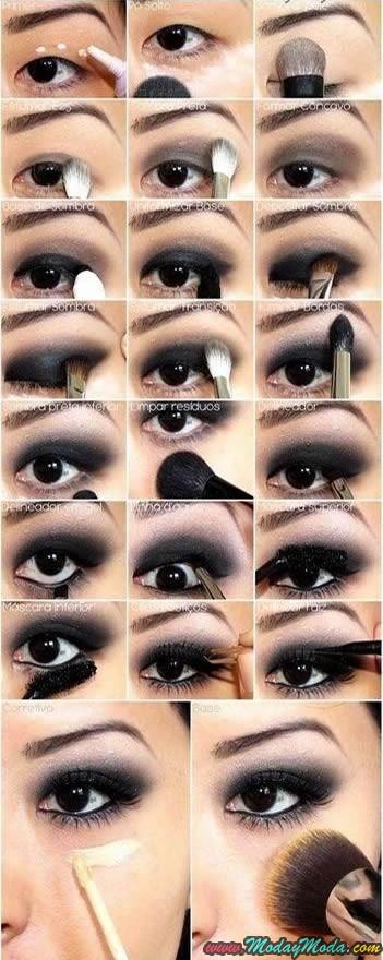 Tutorial de maquillaje ojos efecto smokey