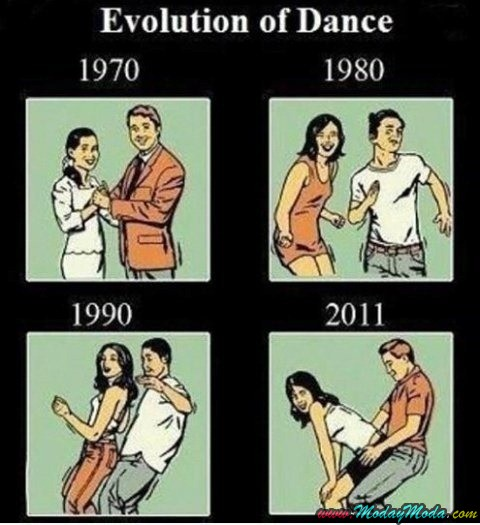 La evolución del baile a través de los años