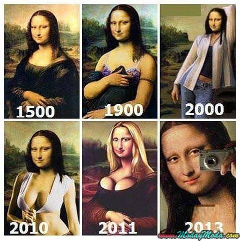 Si Mona Lisa estuviera viva hoy