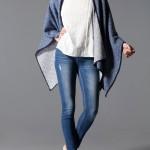 catalogo stradivarius mujer 2015 blusa bordada pantalon mezclilla jeans