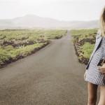 catalogo stradivarius mujer 2015- vestido cuadros