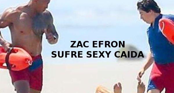 zac efron sexy falls caida