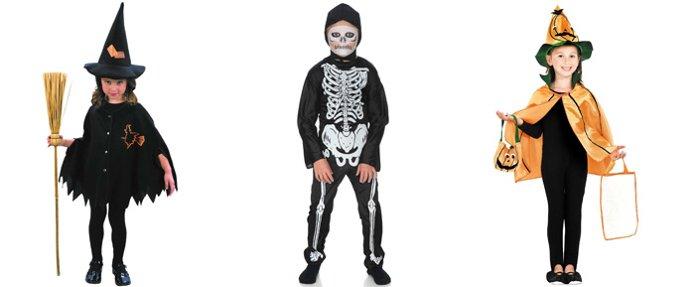 disfraces brujas niñas halloween calavera niño