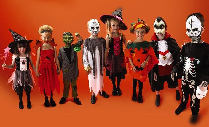 disfraces halloween niños niñas
