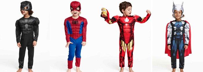 disfraces superheroes niños