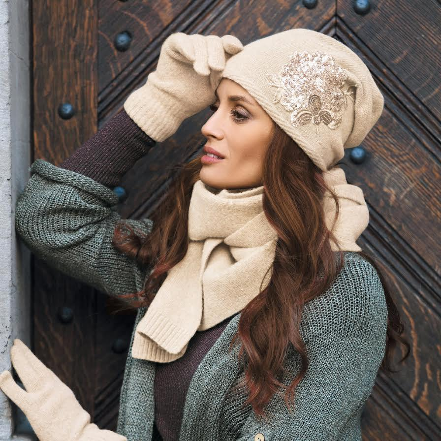 cabello invierno moda frio mujer gorro